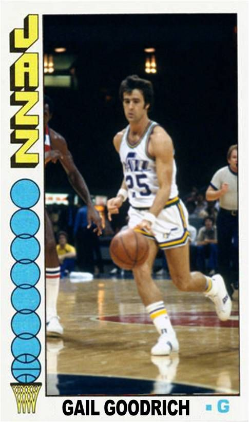 Gail Goodrich New Orleans Jazz Jazz Basketball Ucla Basketball Indoor Basketball Court