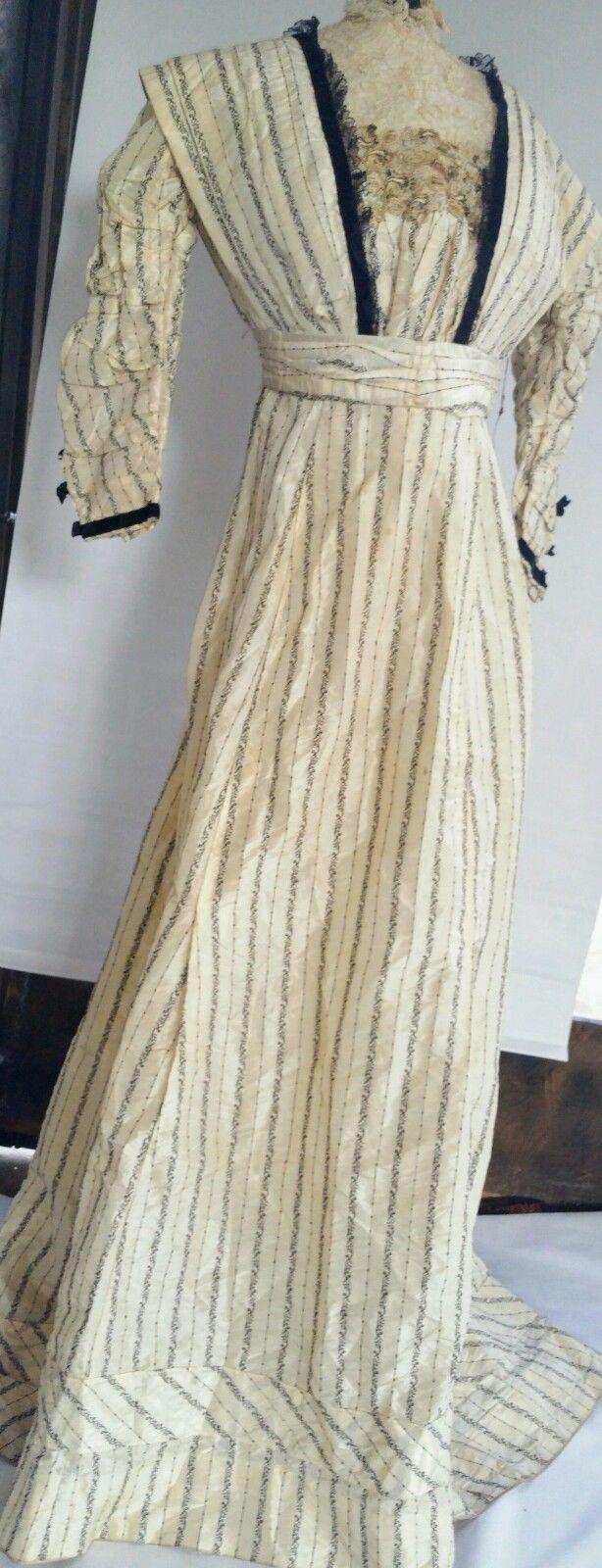 Edwardian silk taffeta gown in clothing shoes u accessories
