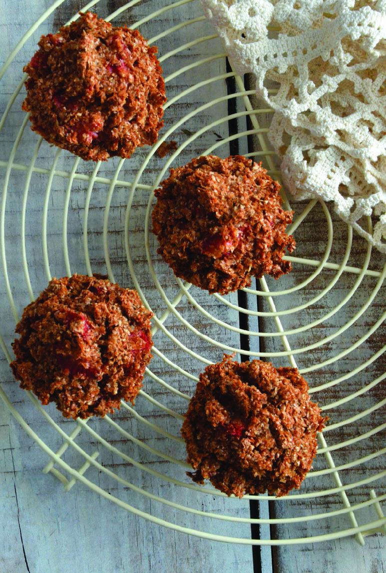 Queques de cereais e morangos | SAPO Lifestyle