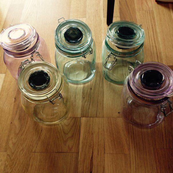Solarleuchten im Einmachglas basteln - Seite 1 - Deko \ Kreatives - deko garten basteln
