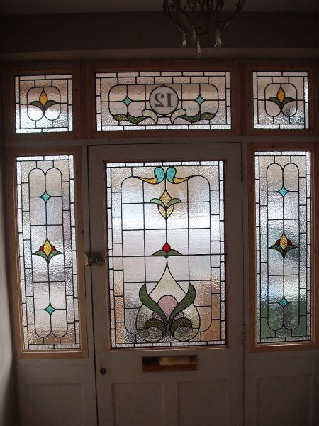 Edwardian Stained Glass 004 Art Stained Glass Pinterest