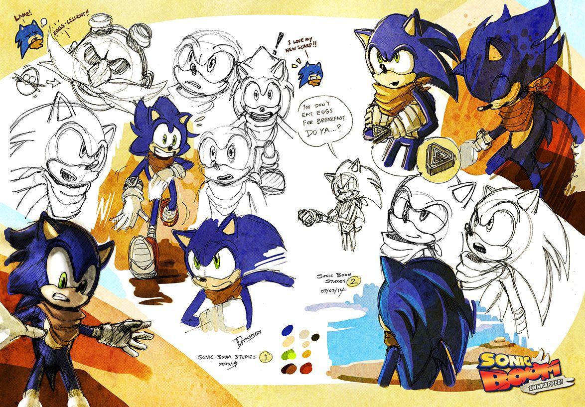 Sonic Boom Unwrapped Studies Sonic Matt Valk Chuah Desert By Darkspeeds Deviantart Com On Deviantart Sonic Boom Sonic Hedgehog Drawing