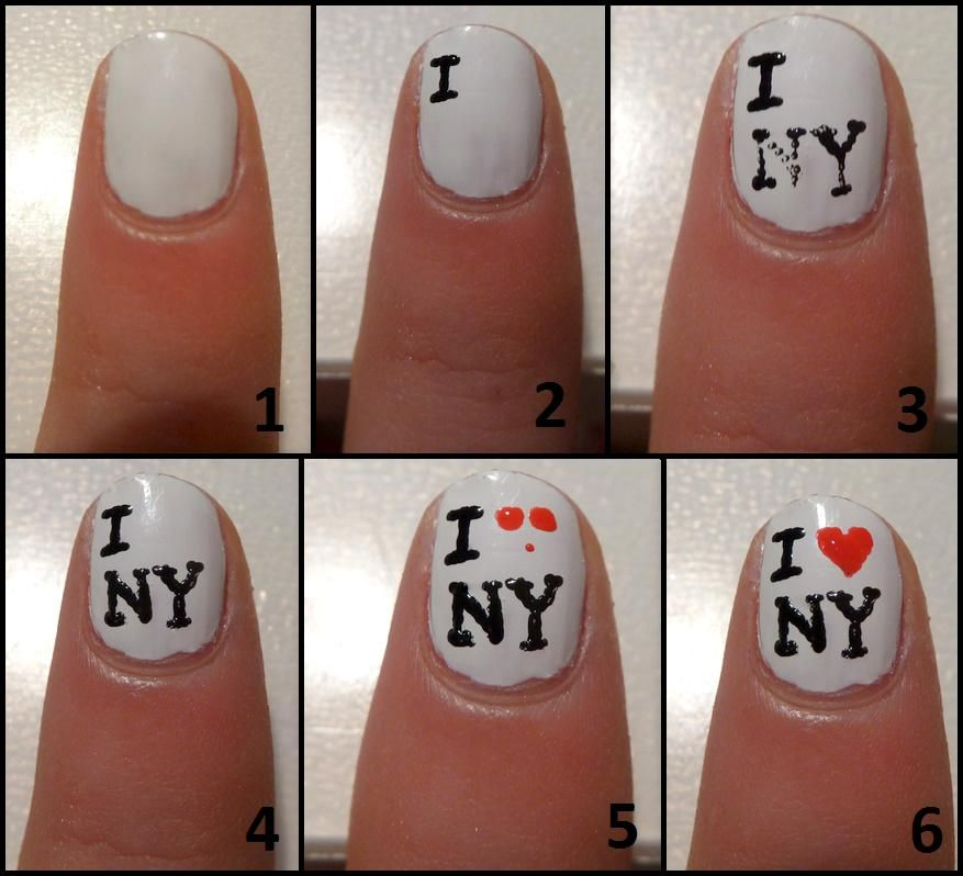 hoe maak je new york nagels - Google zoeken