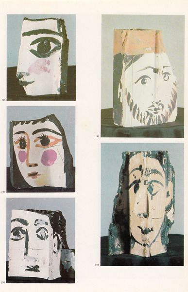medicinals:  Pablo Picasso Fragment(s) of brick, 1962