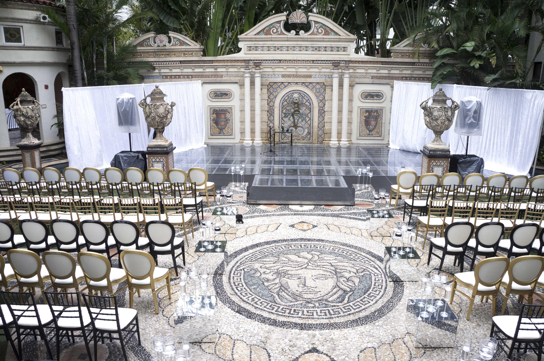 Awesome Ceremony Versace Mansion Wedding Miami Beach Best Interior Design Ideas Apansoteloinfo