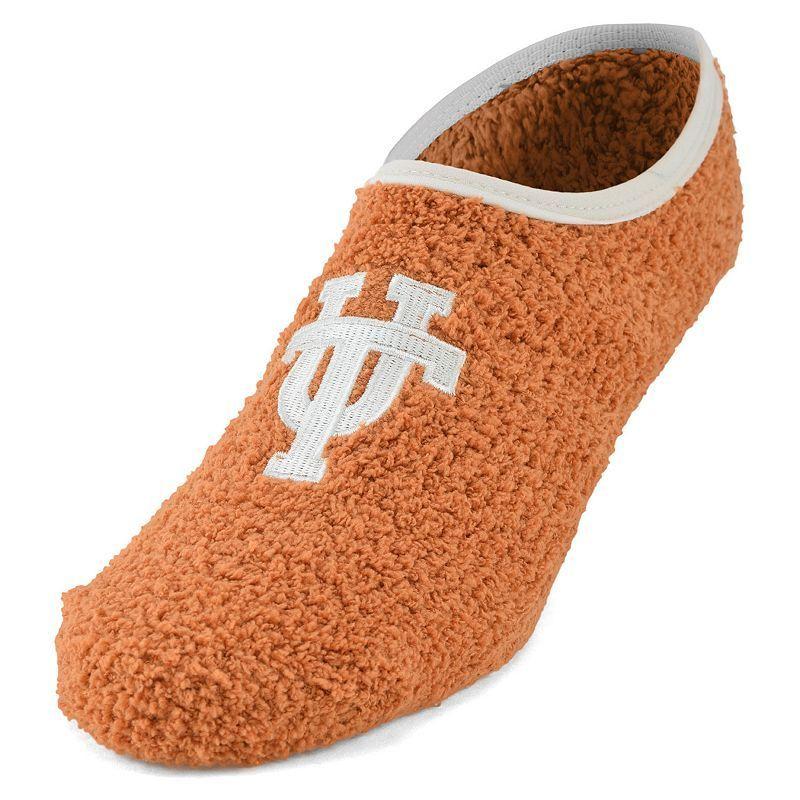 Women's Texas Longhorns Chenille Slipper Socks, Size: 9-11, Orange