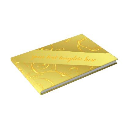 Gold Wedding Guestbook Template Beautiful Guest Book  Guestbook
