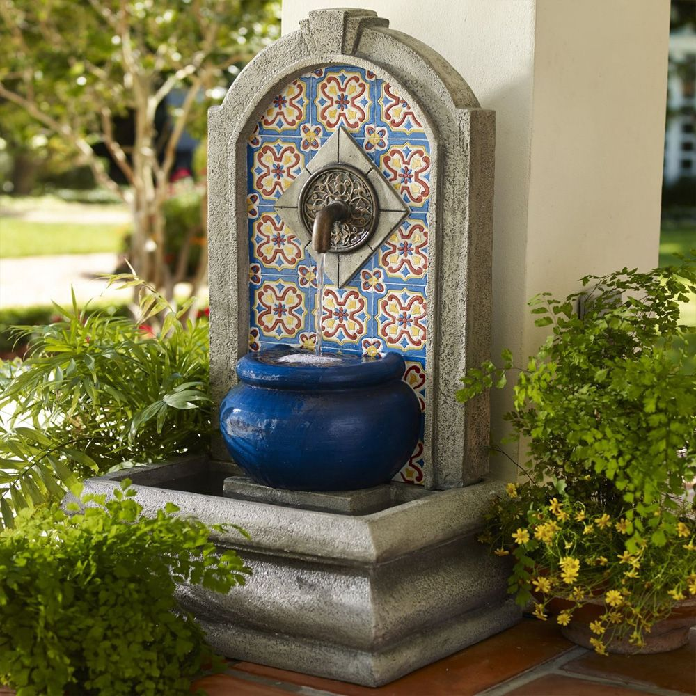 Wall Fountains Outdoor outdoor and patio: modern wall fountains design ideas for luxury