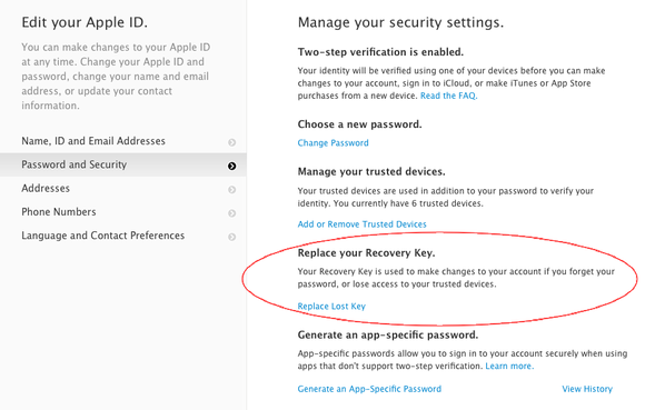 Without Your Recovery Key Your Apple Id Could Be Lost Forever