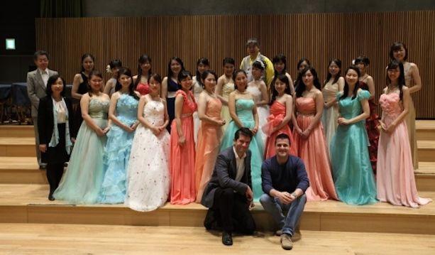 Le canzoni friulane cantate dal coro giapponese a Tokyo.