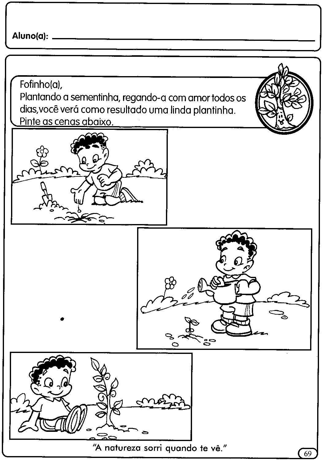Atividades Para A Educacao Infantil As Plantas Atividades Sobre