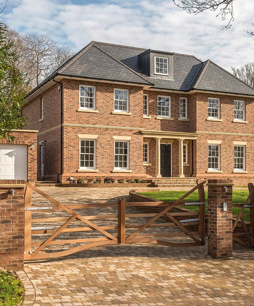 Georgian Style Dreamhome With Sash Windows Symmetrical Look And