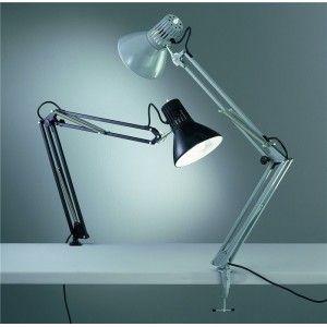 Rossini illuminazione m.40n lampada pantografo a morsetto