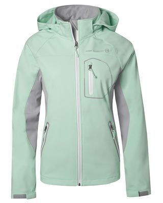 d4748455221 Stay warm during your morning jog in the Women s Trillium Softshell jacket.