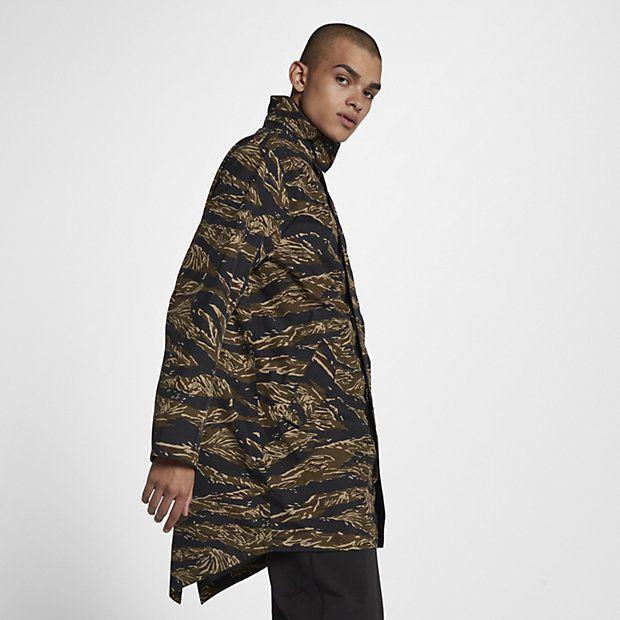 d26a9f056 Veste NikeLab Essentials Tiger Camo Parka pour Homme | tay stuff ...