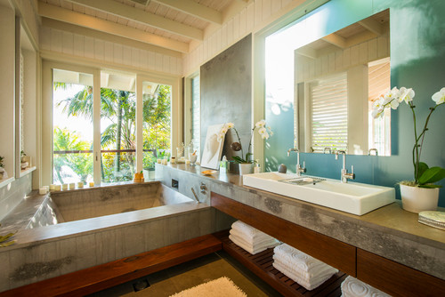 Amazing Tropical Bathroom Lighting Tropical Style Lighting For The