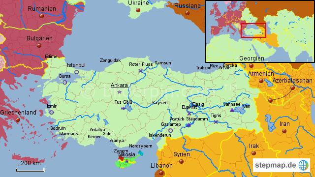 Karte Iran Nachbarlander.Pin Von Kirk Butterfly Auf Interessant Turkei Karte