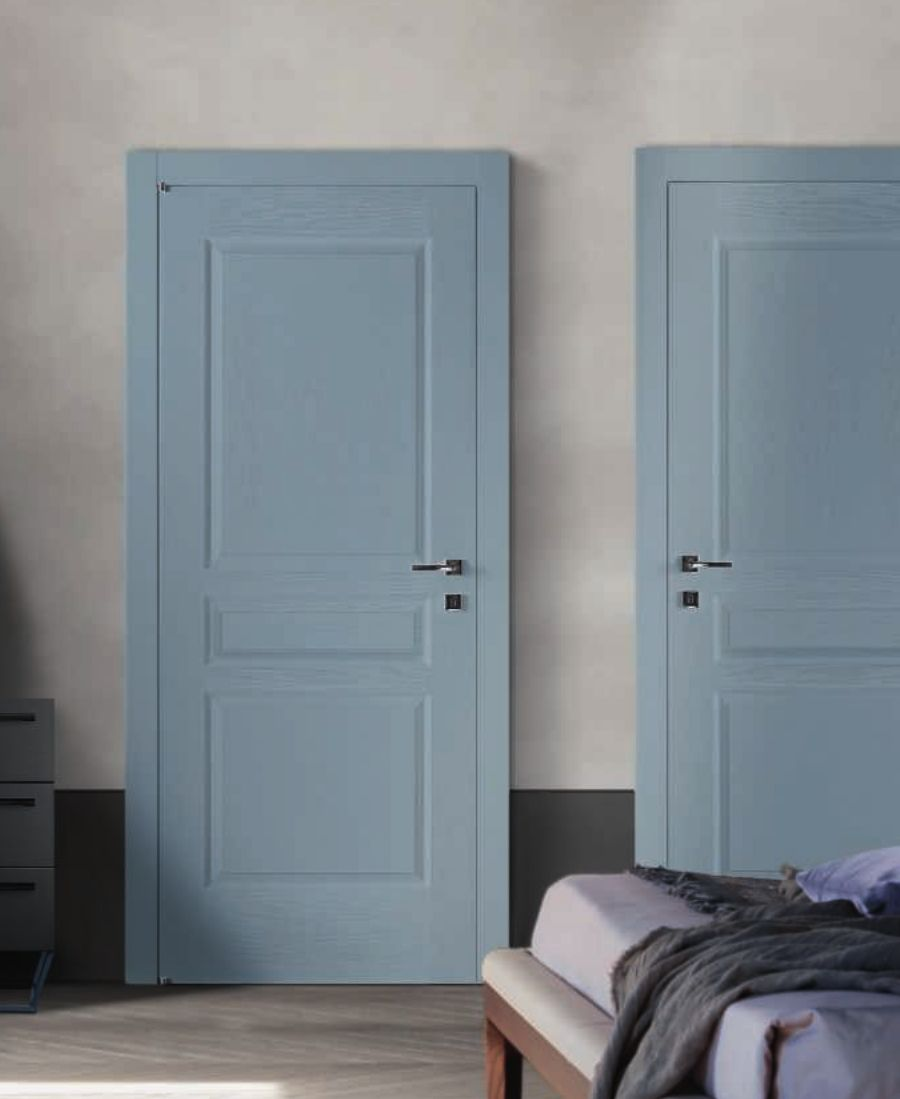 Porte Da Interno Colorate porta da interno colorata azzurra (con immagini) | porte