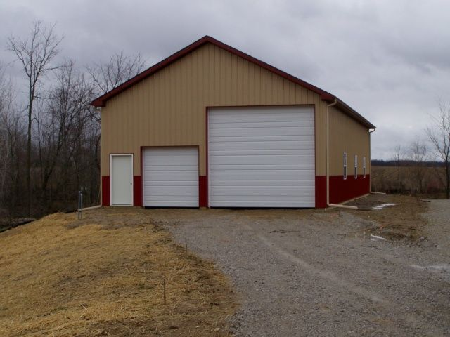 Pole barns rv garage oak builders ann arbor for Motorhome storage building