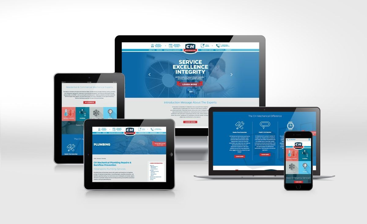 Ch Mechanical Graphic D Signs Web Design Website Design Portfolio Web Design