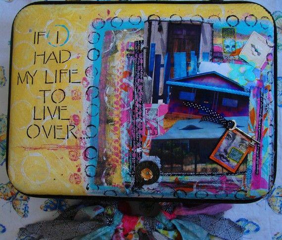 Pretty suitcase