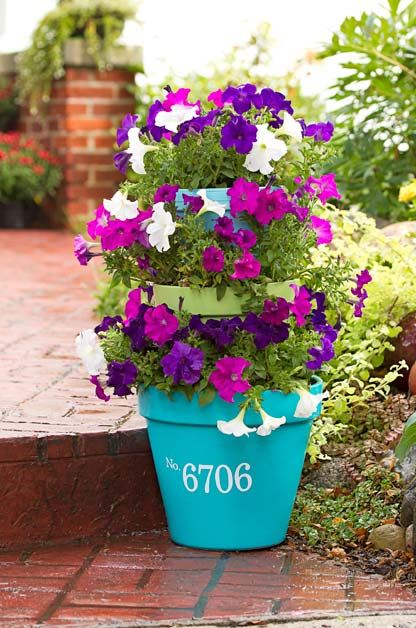 3 Tiered Stacked Planter