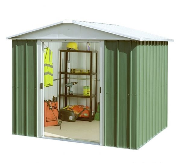Magazie Metalica G87 217x242 Cm Build A Shed Kit Apex Shed Metal Shed
