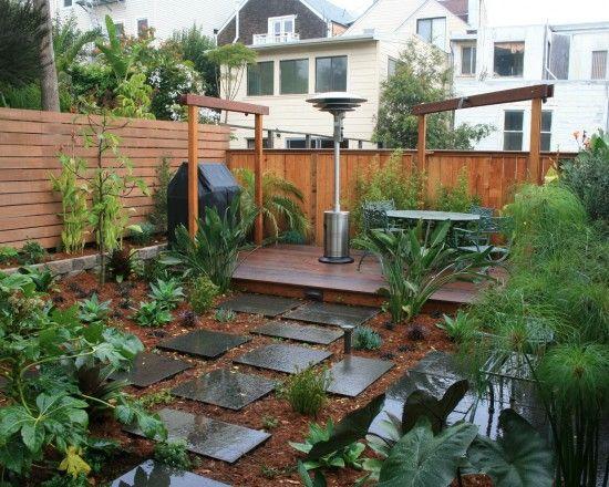 no mow lawn idea | Small backyard landscaping, Modern ... on No Mow Backyard Ideas  id=64604