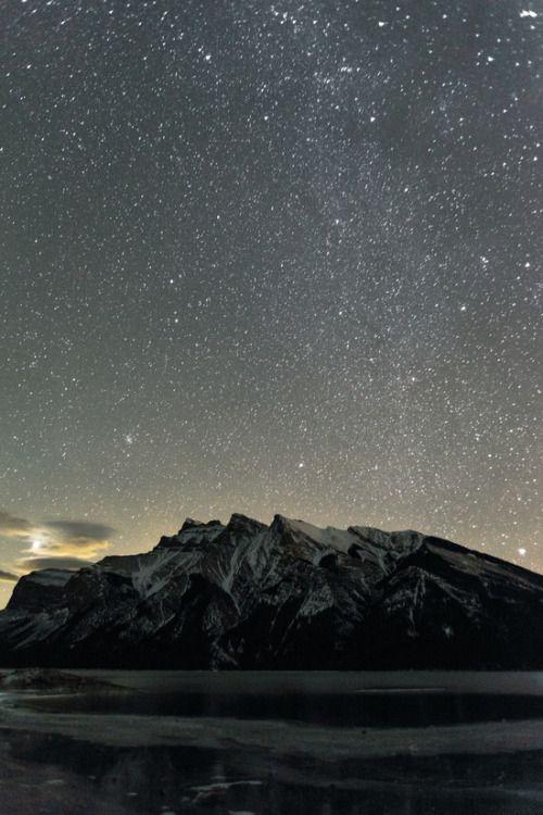 bestof-society6:  ART PRINTS BY LUKE GRAM    Stars over Lake...