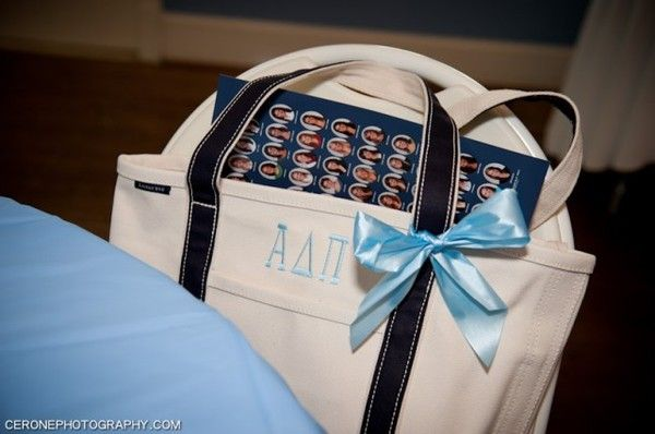 Leave a composite in the Bid Day bags so new members can be familiar with initiated sisters