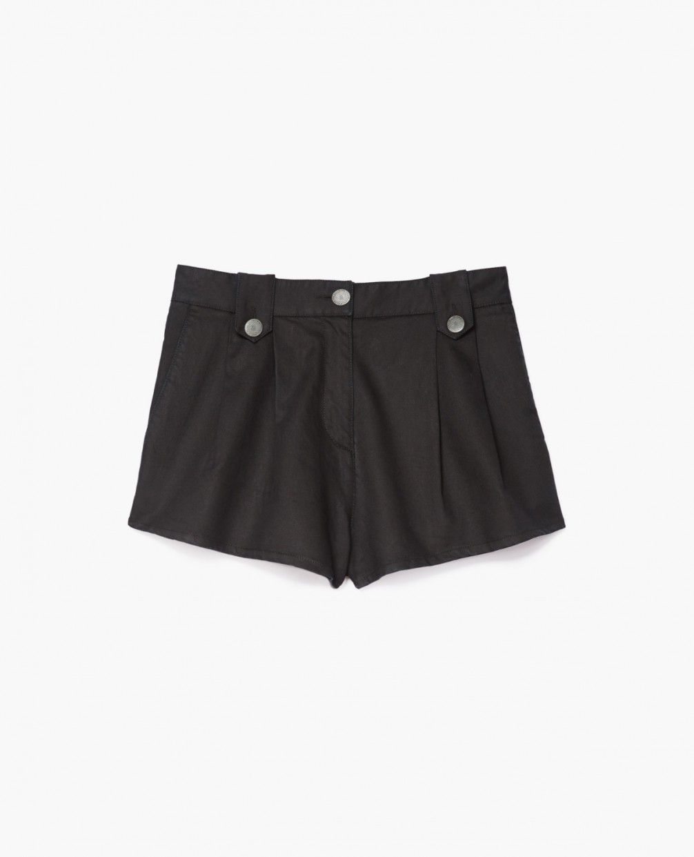 93035eae4a Flowing denim shorts - Skirts & Shorts - New Collection Women - The Kooples