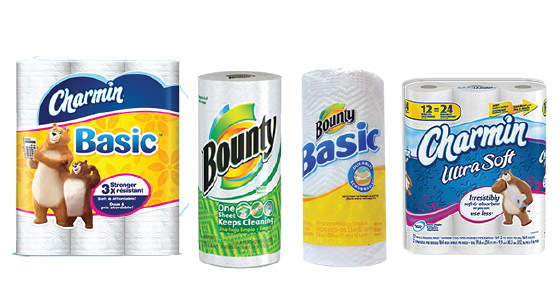 graphic regarding Charmin Coupons Printable titled Bounty and Charmin Financial savings with Printable Discount coupons