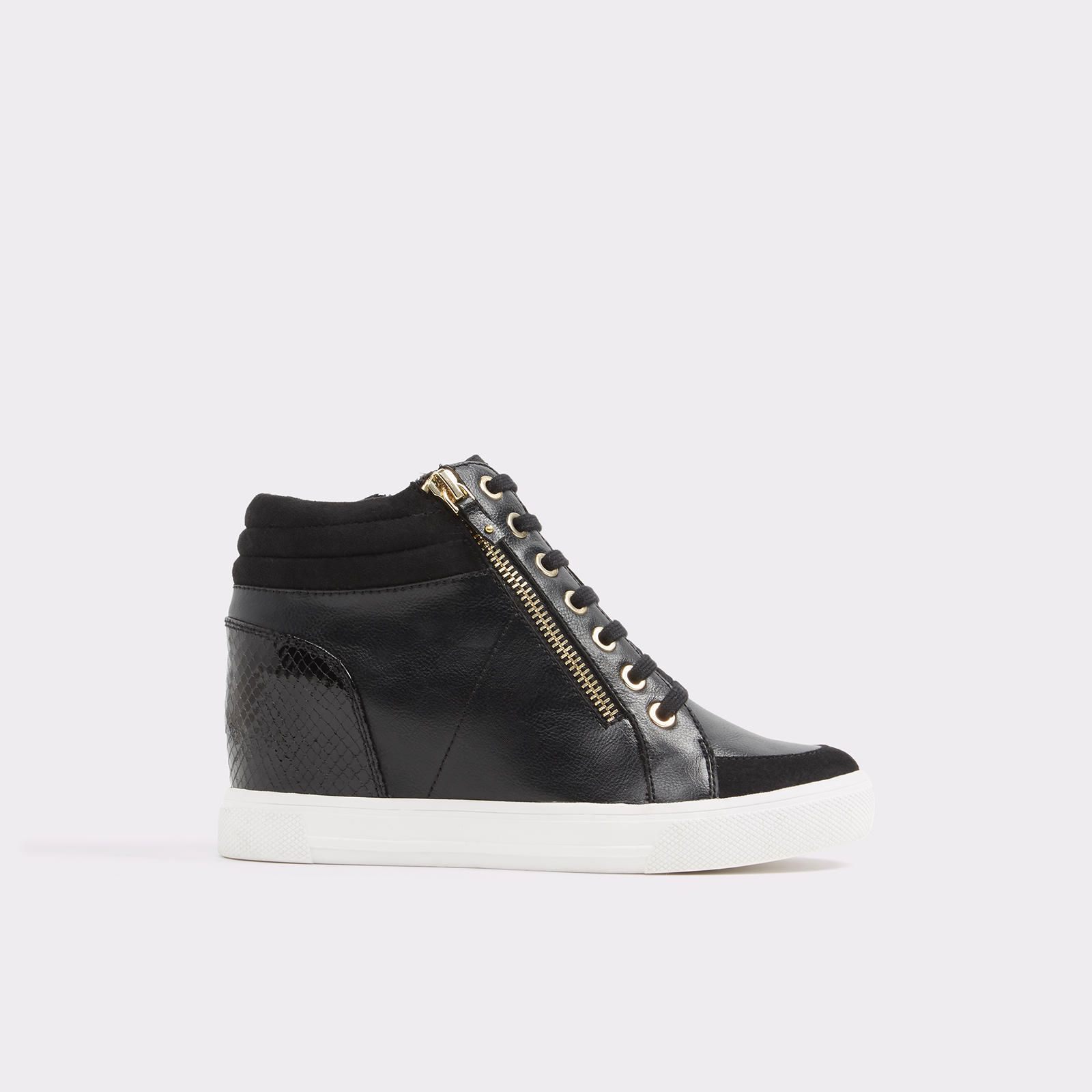 ba0313d771c7 Kaia black by Aldo Shoes - Main Black Wedge Sneakers