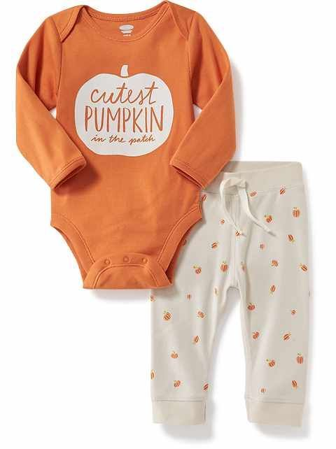 Custom Baby /& Toddler T-Shirt Fall Pumpkin Cotton Boy Girl Clothes