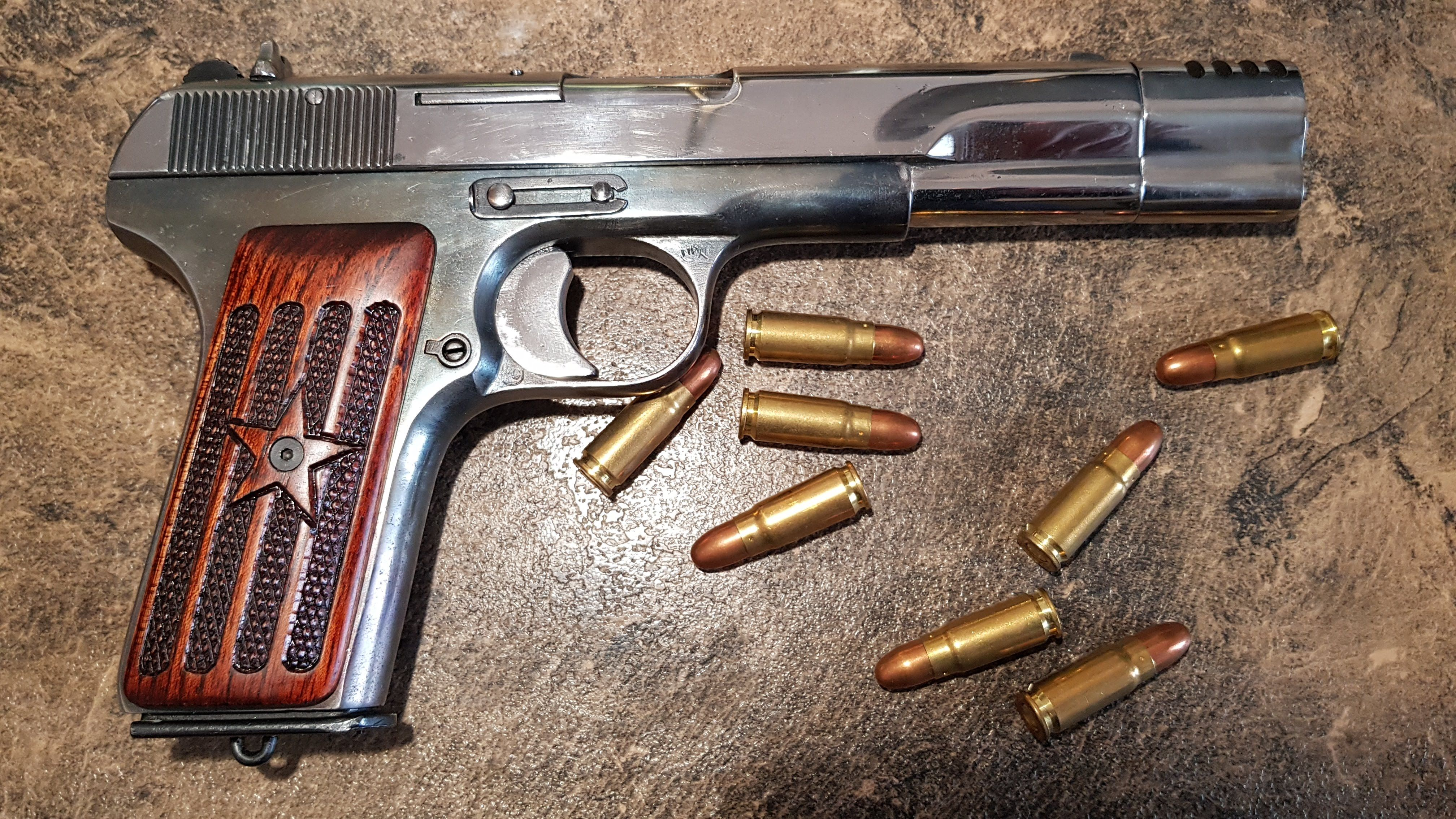 1946 Tokarev Tt33 7 62x25 Custom Tokarev Tt33 Custom Hand Guns