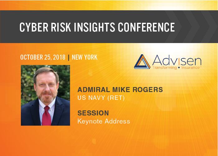 Former Nsa Director Michael S Rogers To Keynote At Advisen S Cyber Risk Conference Advisen Blog Keynote Keynote Speakers Insight
