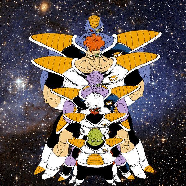 The Ginyu Force By Joker Delarge On Deviantart Anime Dragon Ball Goku Dragon Ball Super Goku Anime Dragon Ball