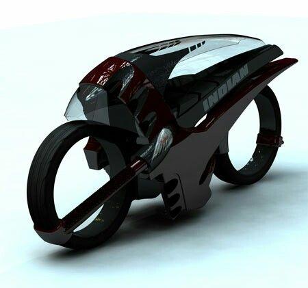 Moto con techo estilo alien ♡