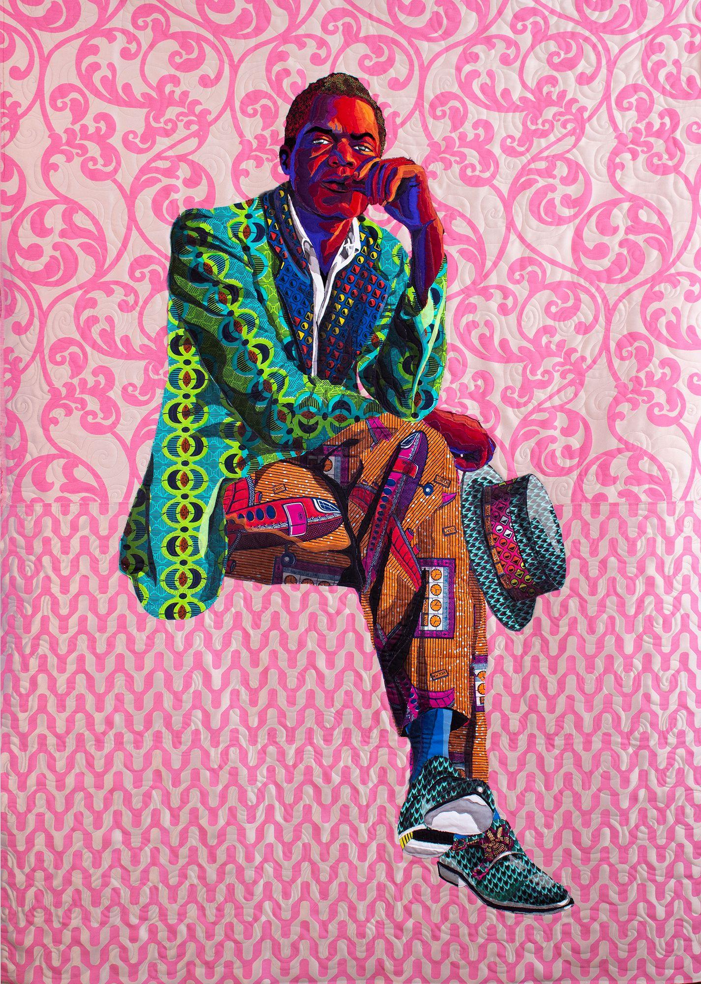 Bisa Butler in 2020 Contemporary african art, African