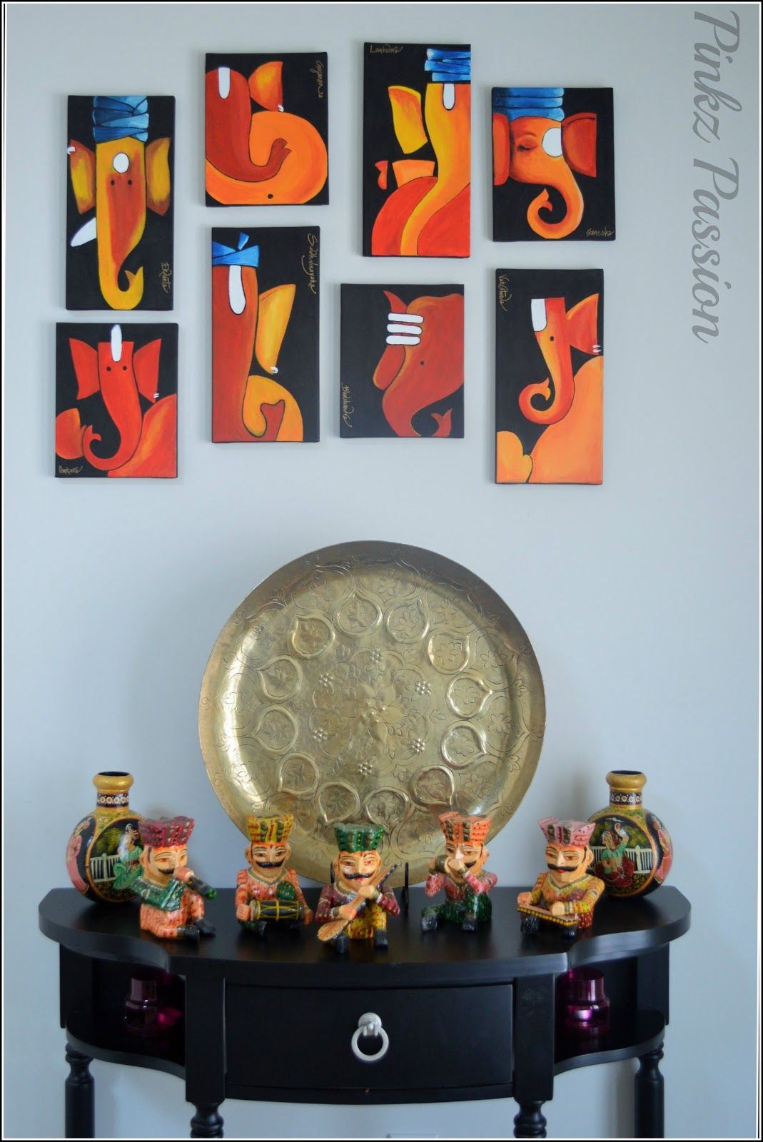 Ganesha, holi decorations, spring decoration, indian décor ...