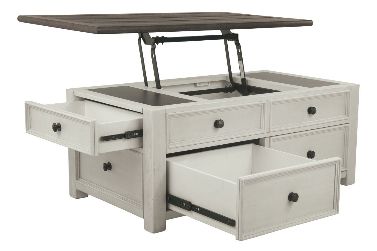 Bolanburg Coffee Table With Lift Top Antique Kitchen Table Lift