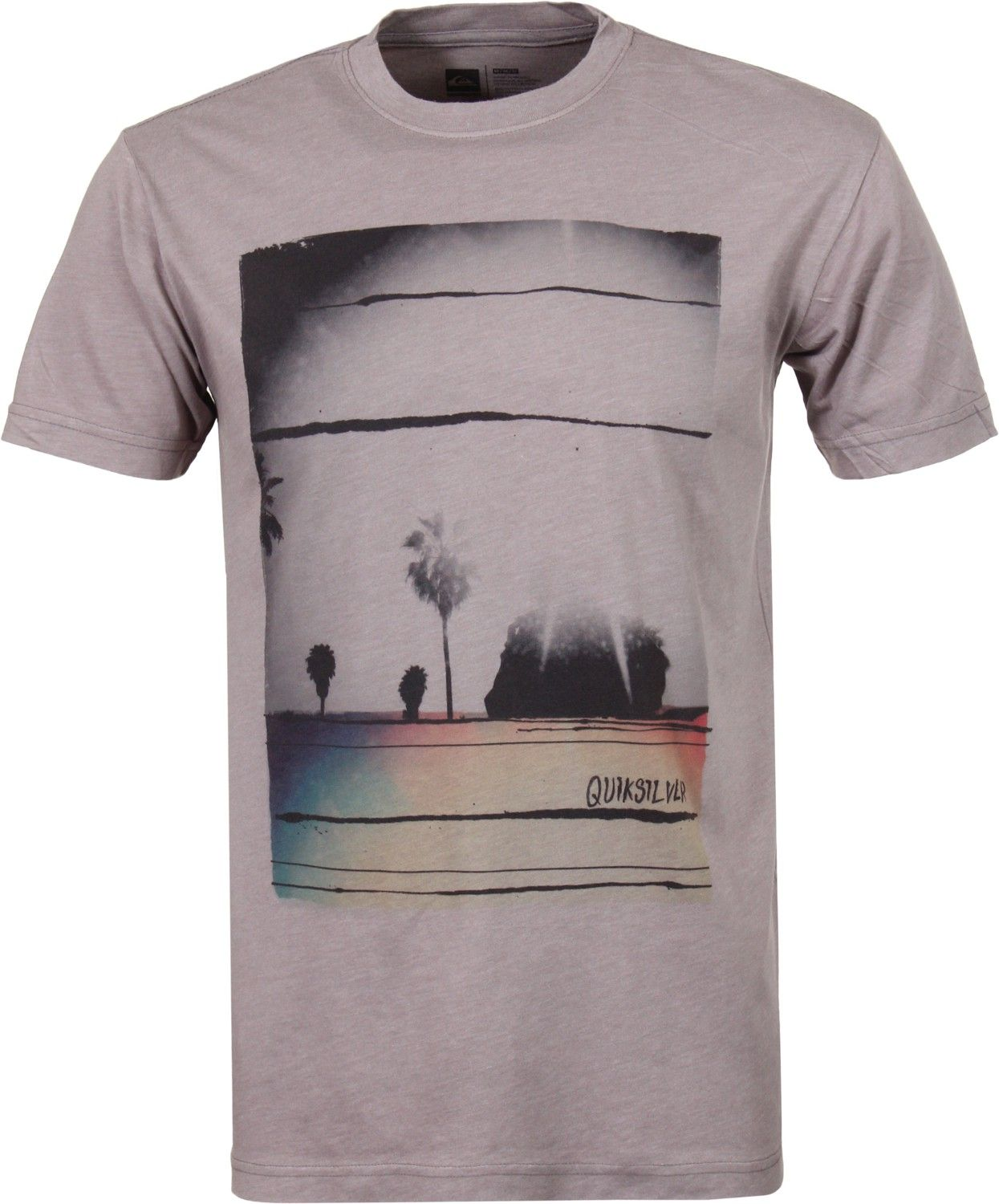 Quiksilver plain black t shirt - Quiksilver Fiction T Shirt Haze Men S Clothing Shirts T Shirts