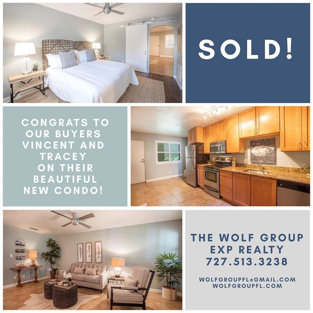 Congratulations to Vincent and Tracey on your second home