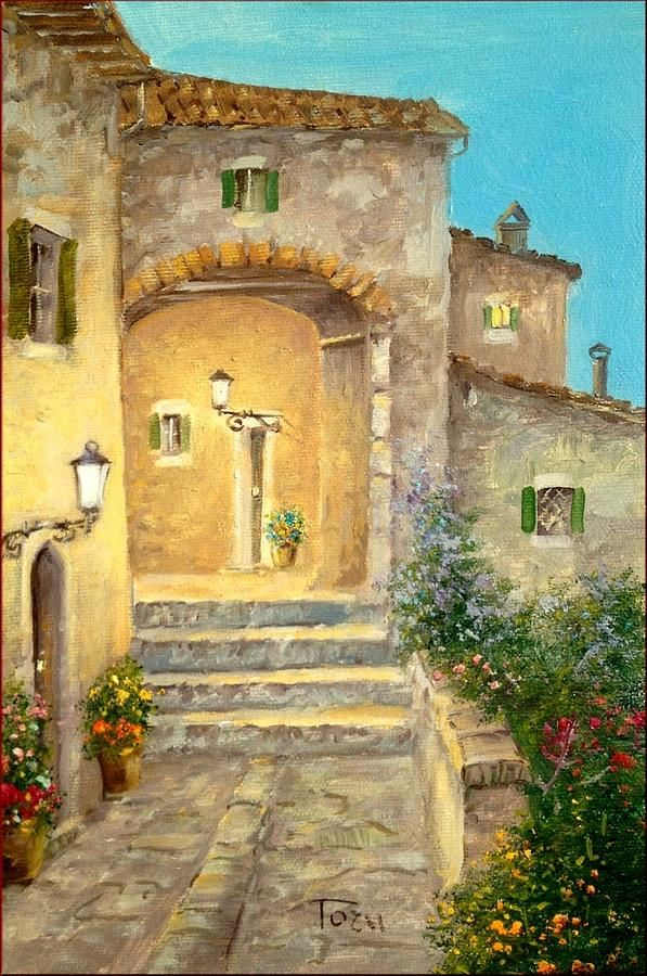 Old Tuscan House ~ Luciano Torsi