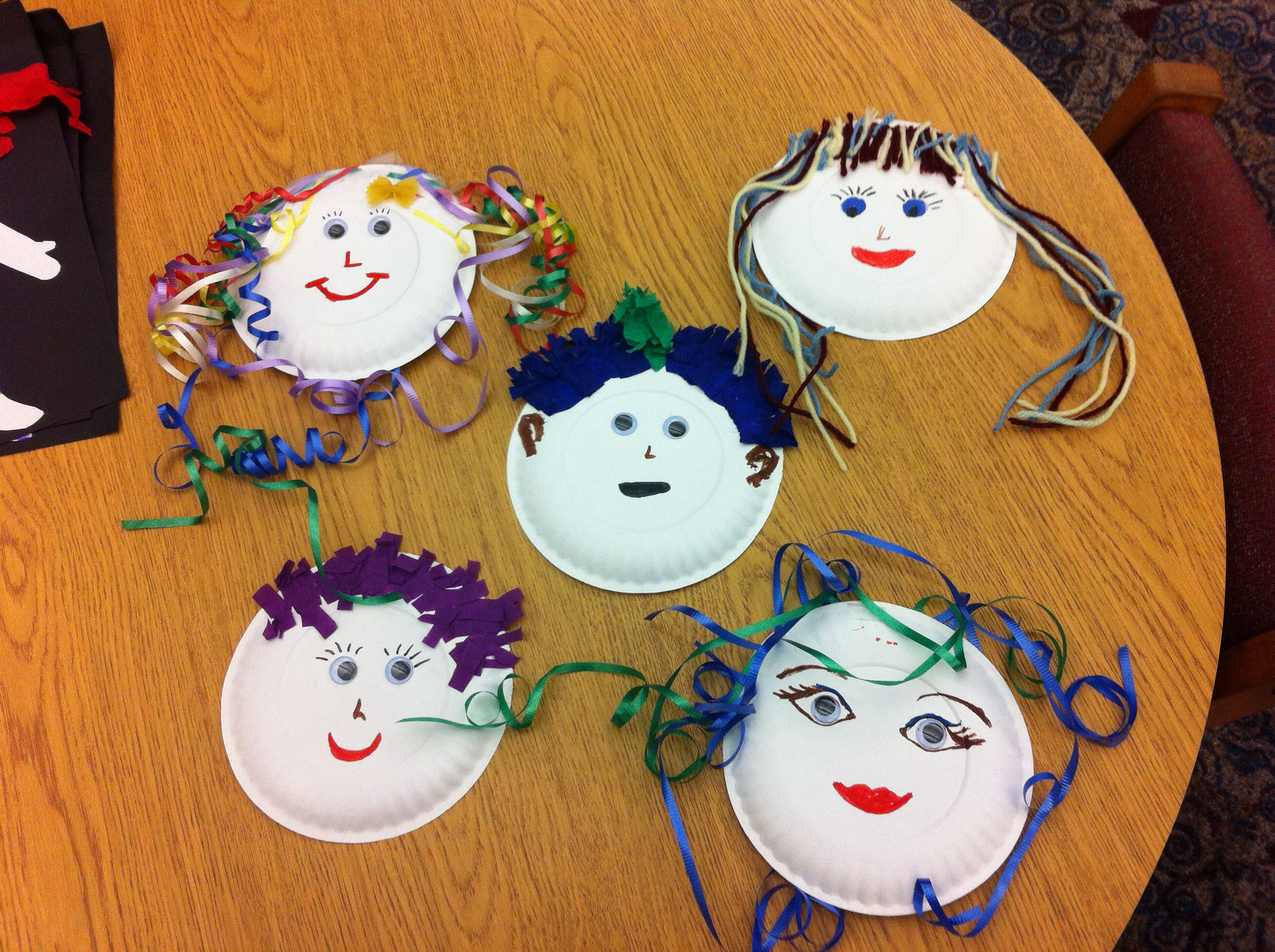 Crazy Hair Story Time Craft