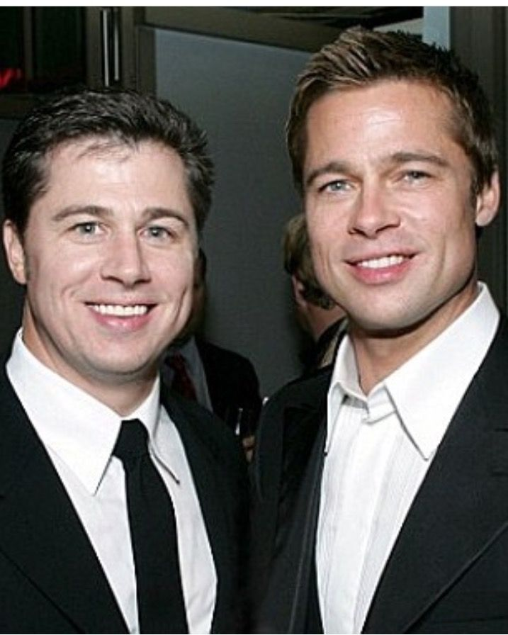 joliepittsquad27 - Instagram. Brad Pitt and his brother ... брэд питт инстаграм