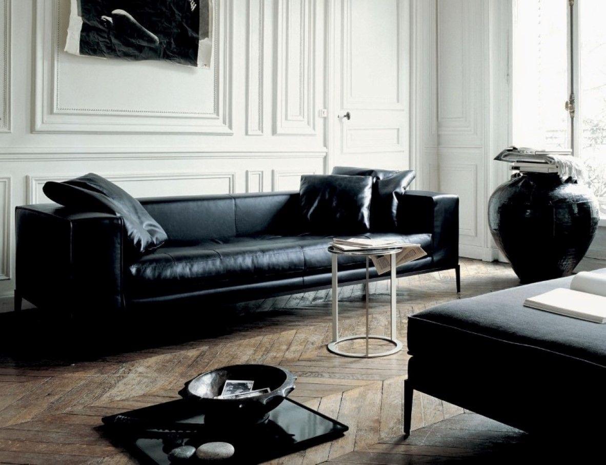 Choosing Black Leather Sofas For