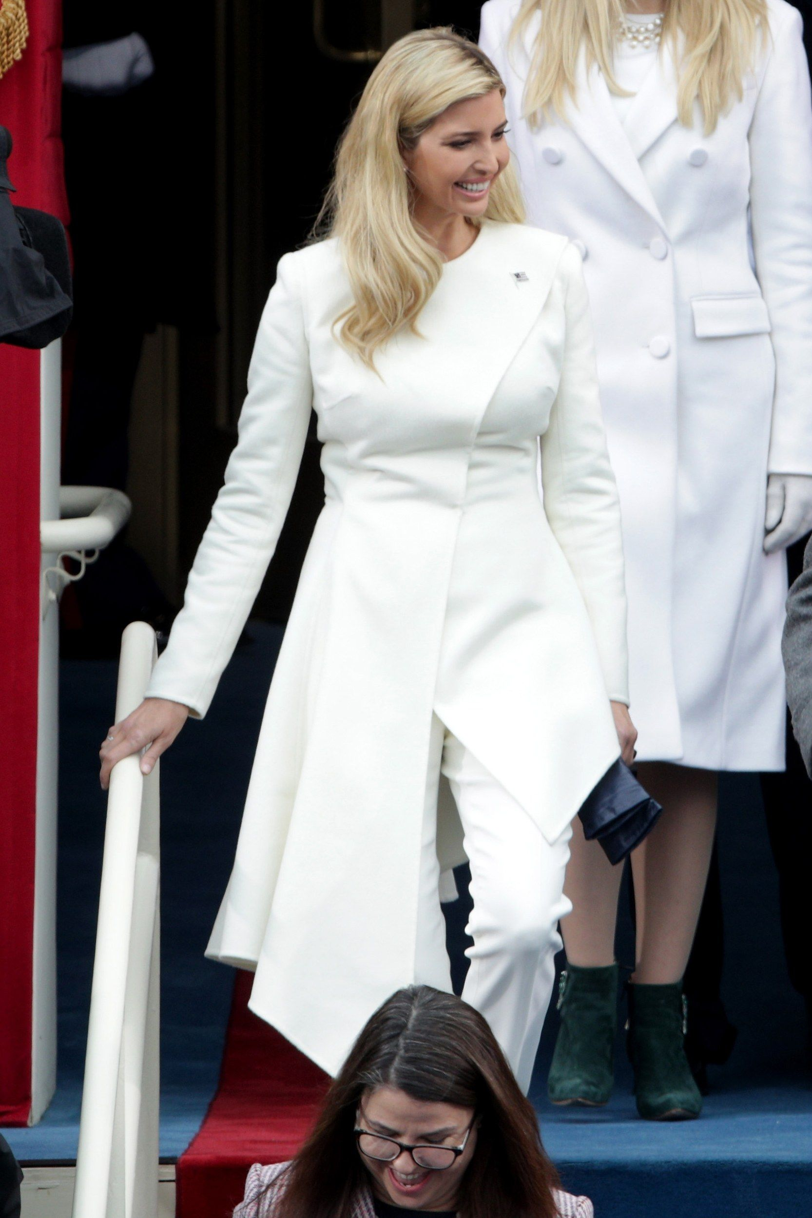 The Meaning Behind Ivanka Trump's White Pantsuit at the Inauguration