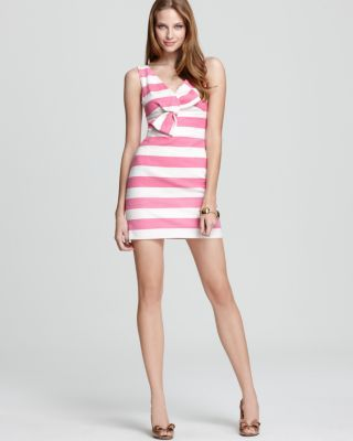 ac3280e8721 ✈ Pink and White Striped Dress from Kate Spade ✈