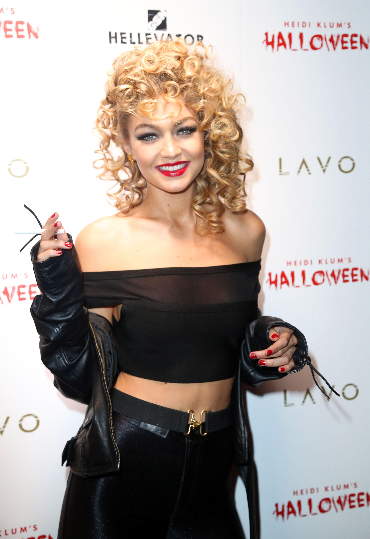 Gigi Hadid as Sandy from the Movie